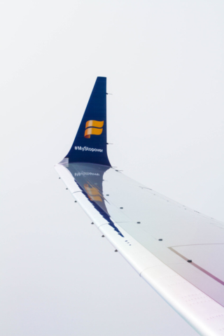 Icelandair Boeing 737 MAX 8 TF-ICE Jökulsárslón // Source: Alina Daneliia (specially for Flugblogg)