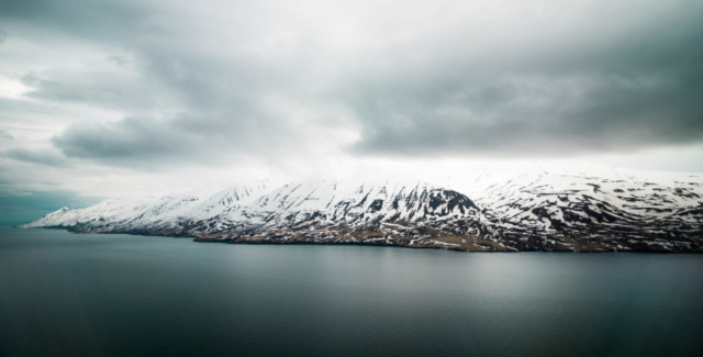 Akureiry area views during presentaion of Icelandair Boeing 737 MAX 8 // Source: Alina Daneliia (specially for Flugblogg)