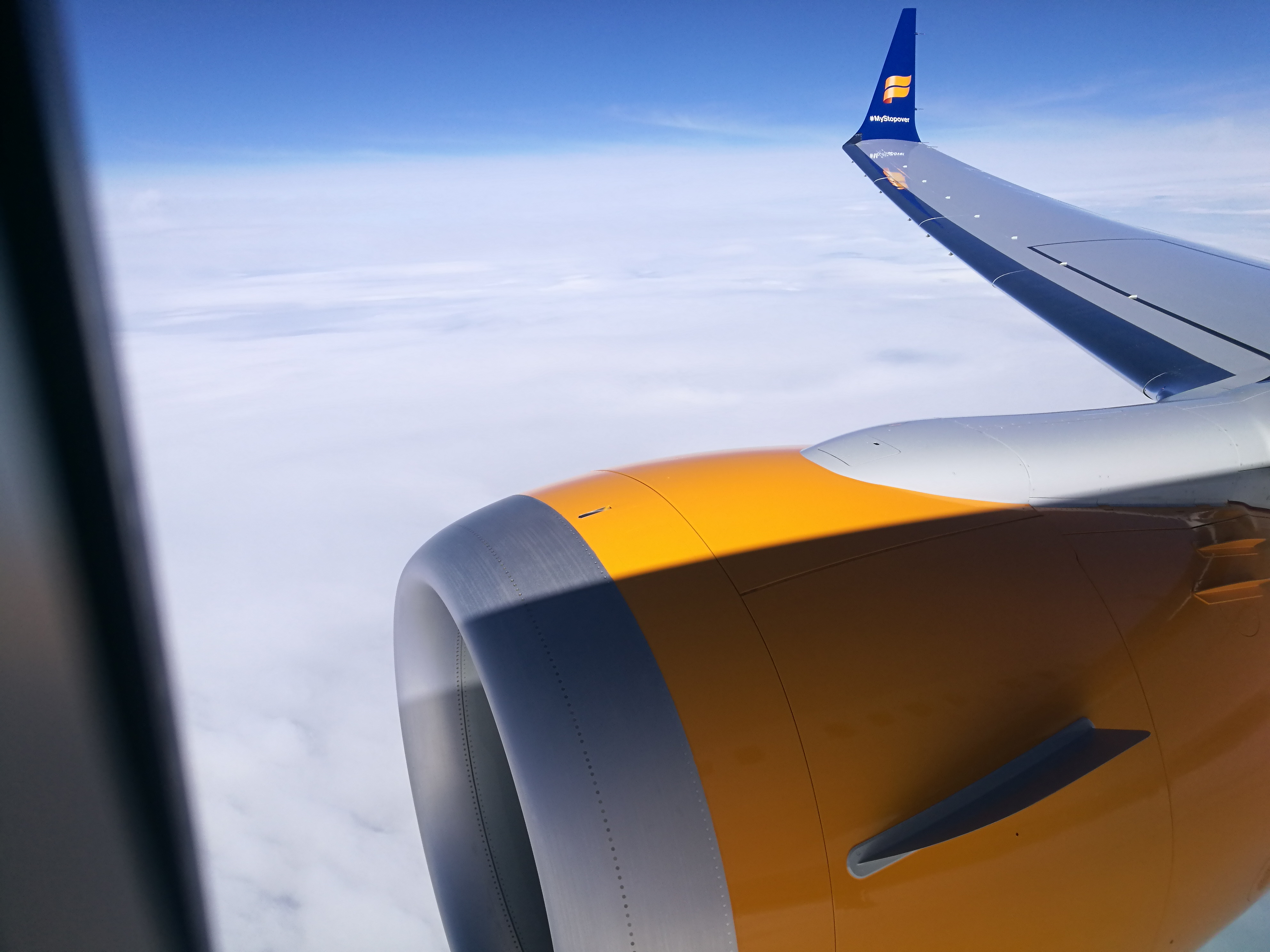 Icelandair Boeing 737 MAX 8 TF-ICE Jökulsárslón // Source: Flugblogg