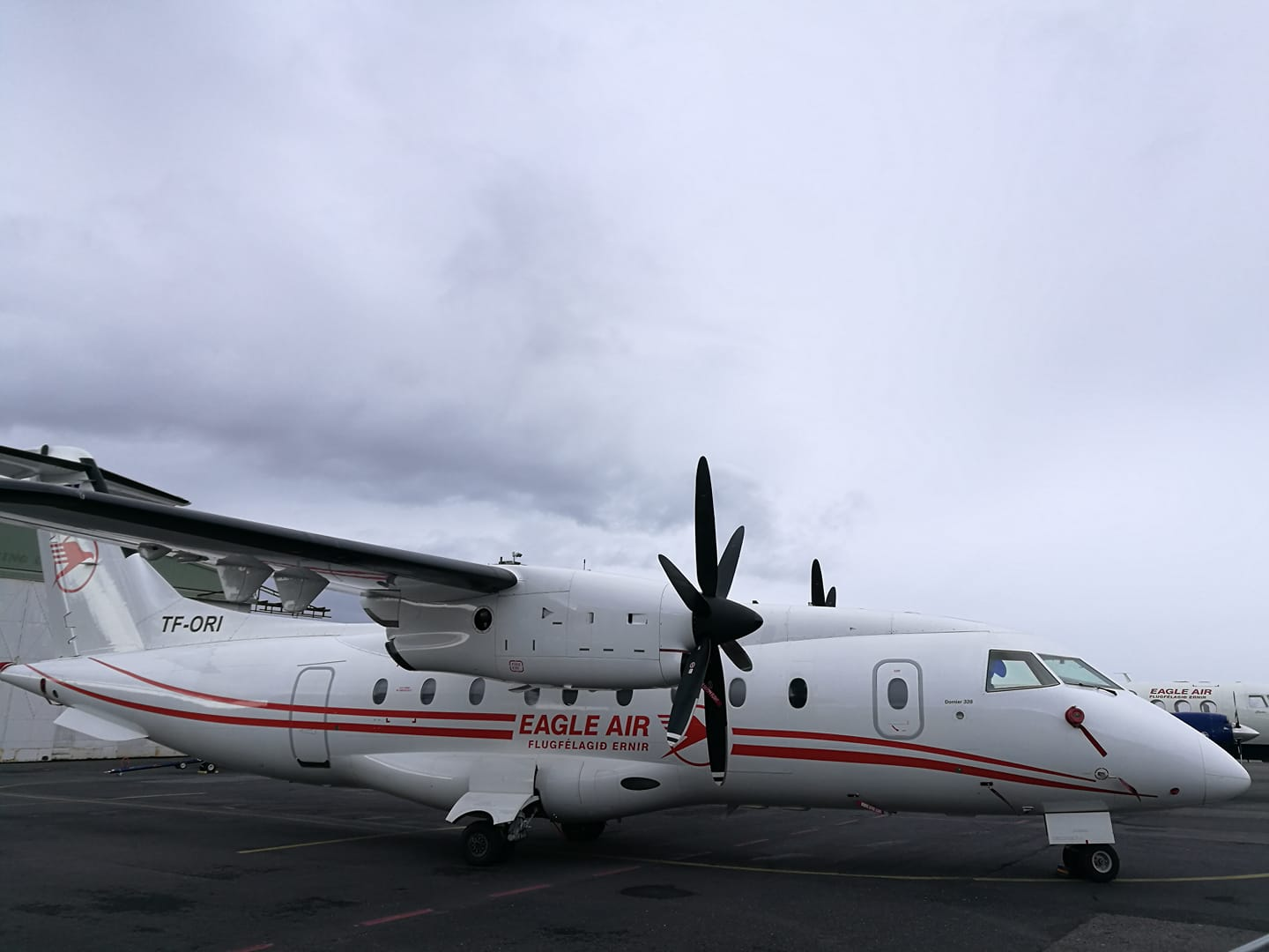 Eagle Air Dornier Do328 (reg. TF-ORI) // Source: Flugblogg