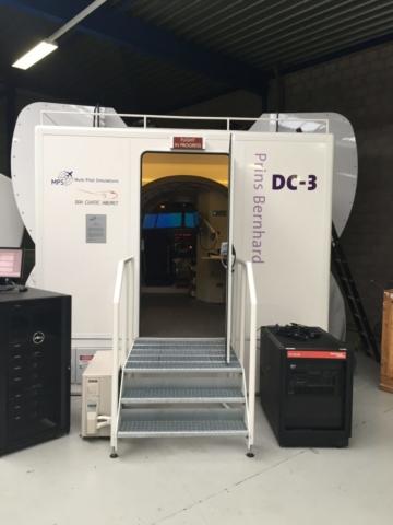 DC-3 simulator in Amsterdam , The Netherlands // Source: Tómas Dagur Helgason