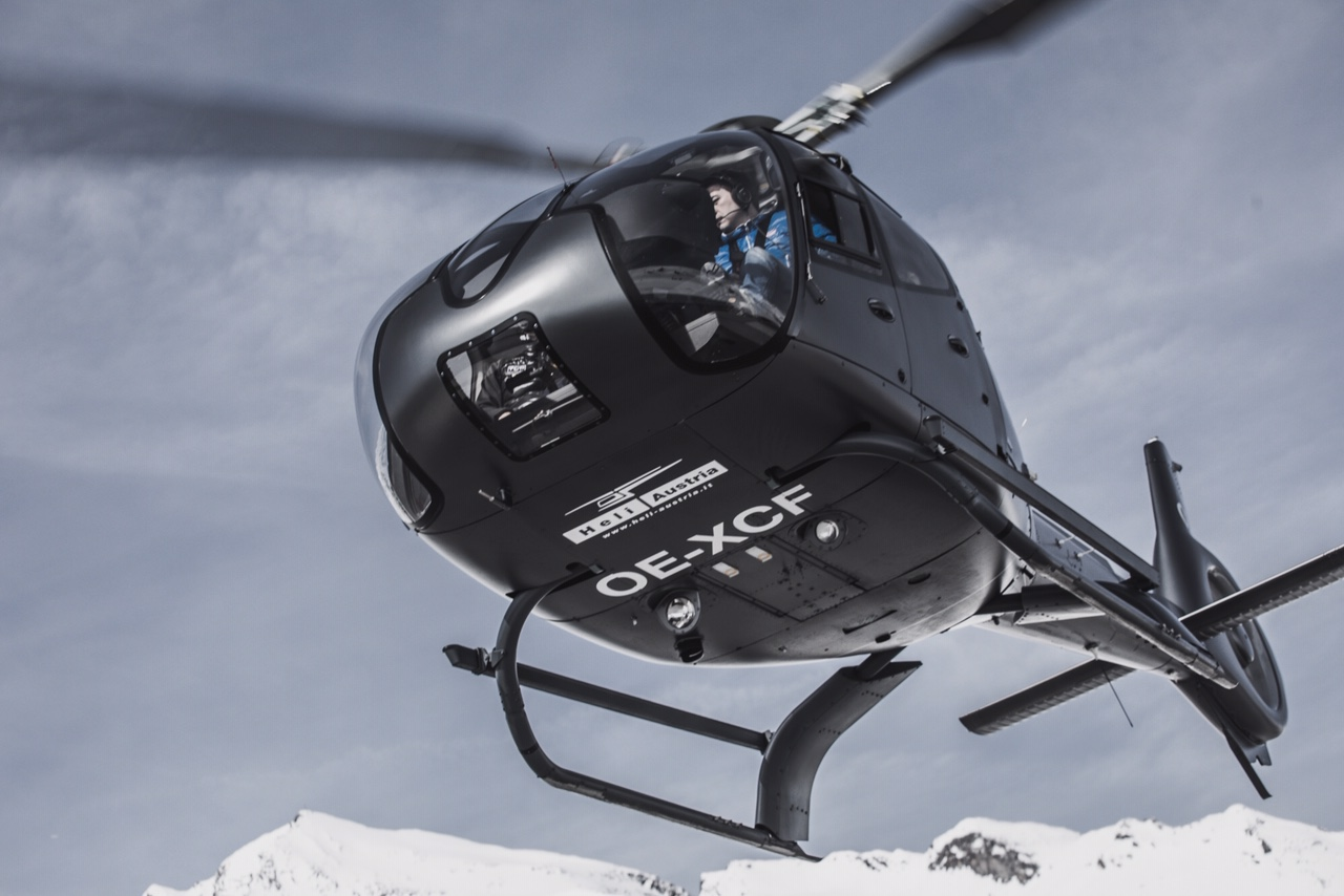 Airbus Helicopter H130 (reg. OE-XCF) will be exclusively available for Circle Air during the summer 2019 // Source: Circle Air