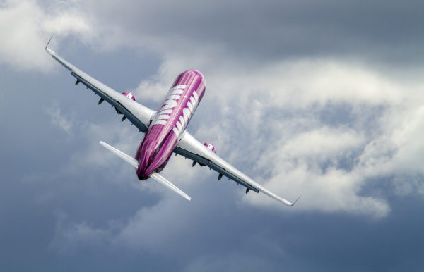 WOW Air Airbus A321 (reg. TF-GPA ) // Source: Karl Georg Karlsson
