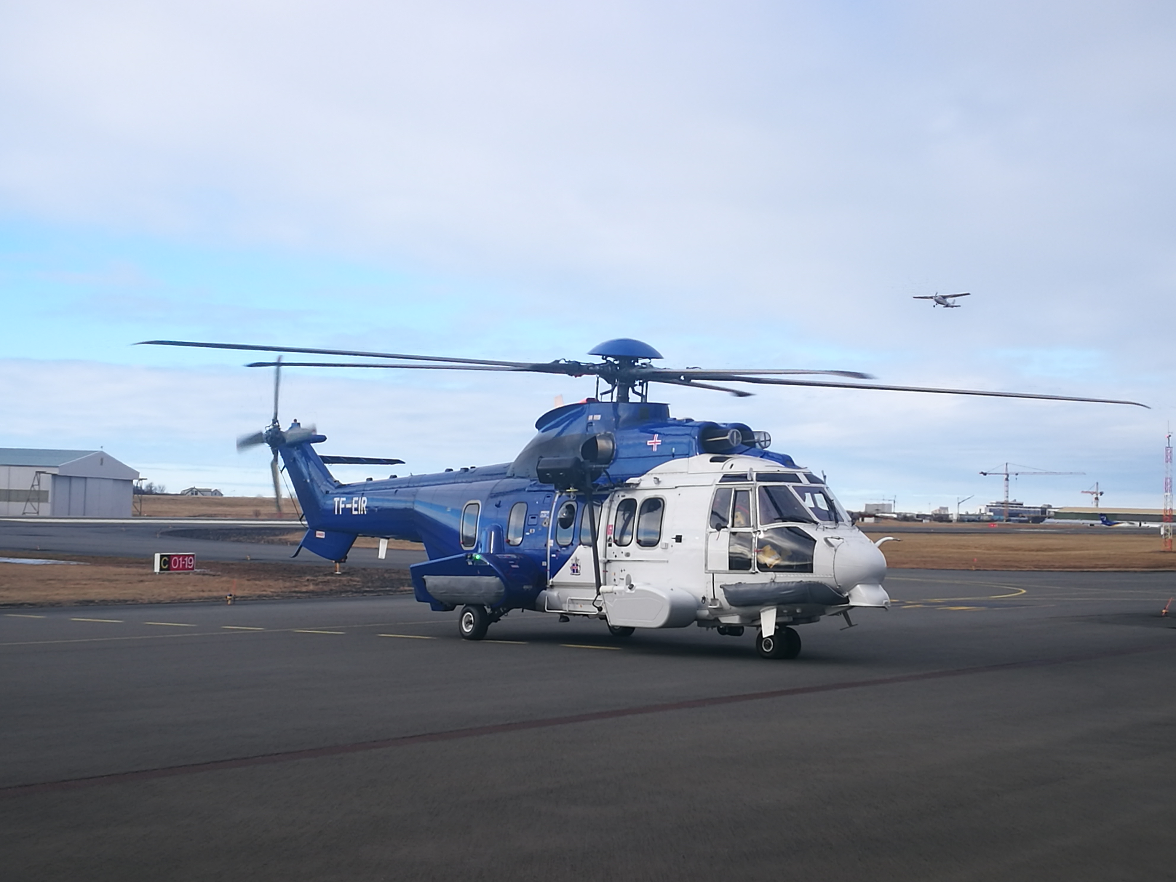 Icelandic Coast Guard Airbus H225LP (reg. TF-EIR) // Source: Flugblogg