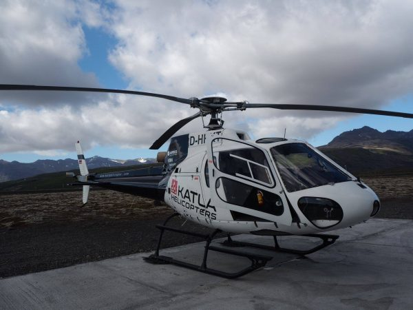 Aerospatiale AS350BA (reg. D-HHKT) leased by Atlantsflug in Skaftafell // Source: Atlantsflug