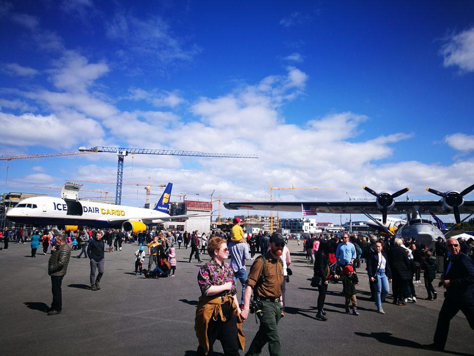 Ground exhibition of Reykjavik Airshow 2019 // Source: Flugblogg