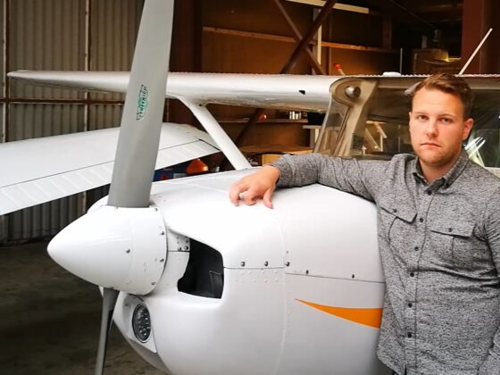 Co-founder of Reykjavik Flight Academy Hjörvar Hans Bragason // Source: Flugblogg