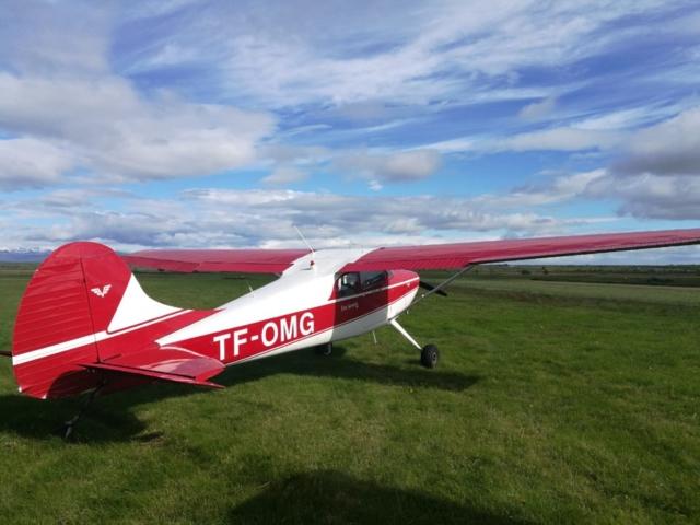 Cessna 170 TF-OMG in Hella