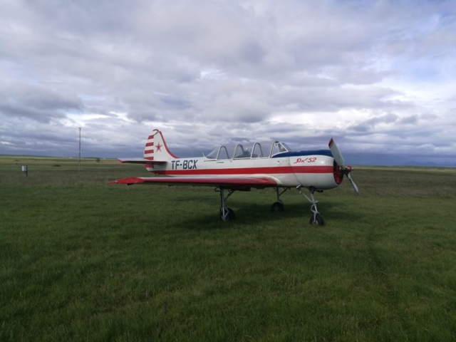 Yak-52 TF-BCX in Hella