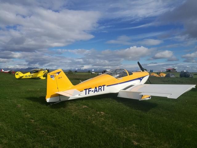 RV-6 TF-ART in Hella
