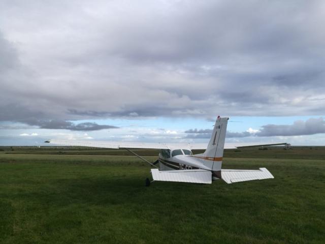 Cessna 172 TF-FFL in Hella