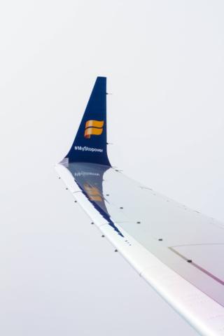 Icelandair Boeing 737 MAX 8 TF-ICE Jökulsárslón // Source: Alina Daneliia (specially for Flugblogg)