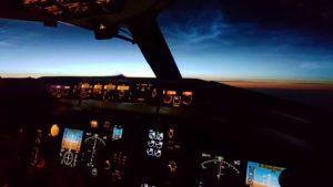 The view from Icelandair Boeing 757 // Source: Matthías Sveinbjörnsson