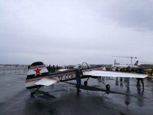 Yak-55 (reg. TF-CCB) during Reykjavik Airshow 2018 // Source: Flugblogg