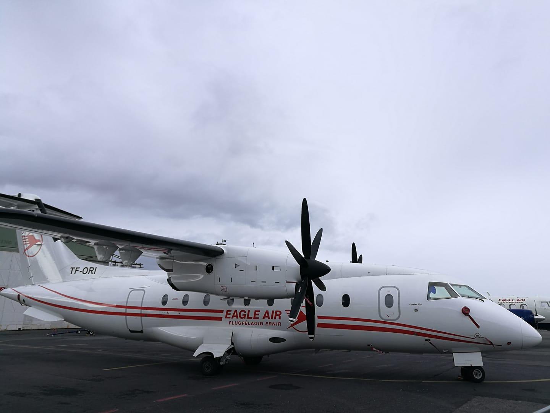 Eagle Air Dornier Do328 (reg. TF-ORI) // Source: Flugblogg