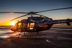 """Helo"" Bell-407 (reg. TF-HHH) // Source: helo.is"