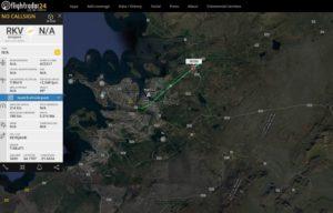 "Inaugural flight of ""Eagle Air"" Dornier 328 (reg. TF-ORI) // Source: Flightradar24"