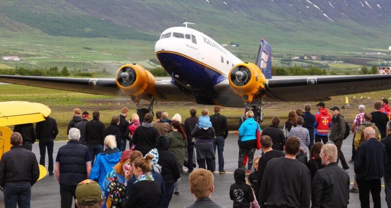 DC-3 reg. TF-NPK // Source: Flugsafn Íslands (Hörður Geirsson)
