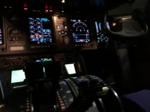 "The cockpit of ""Eagle Air"" Dornier 328 (reg. TF-ORI) // Source: Flugblogg"