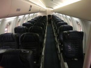"The cabin of ""Eagle Air"" Dornier 328 (reg. TF-ORI) // Source: Flugblogg"
