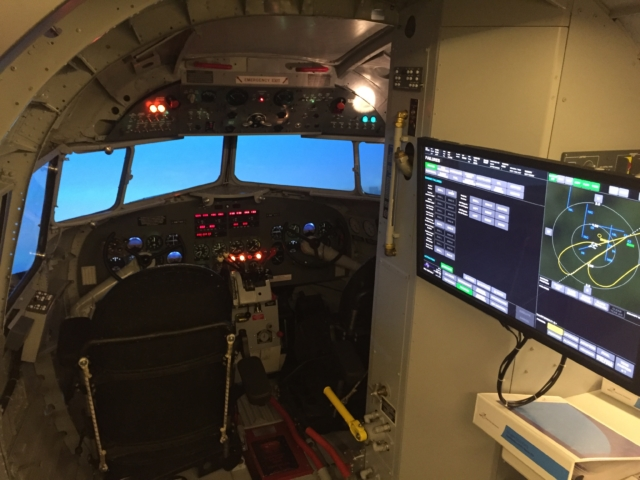 DC-3 simulator in Amsterdam, The Netherlands // Source: Tómas Dagur Helgason