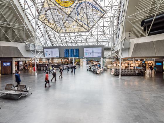 Keflavik airport terminal // Source: Isavia
