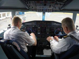 The cockpit of Eagle Air Dornier Do328 (reg. TF-ORI) // Source: Flugblogg