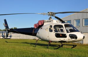 Aerospatiale AS350BA (reg. D-HHKT) leased by Atlantsflug // Source: Konstantin Krieger, helionline.net