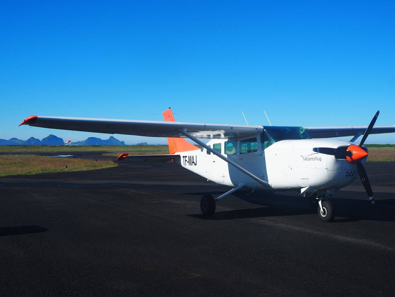 Atlantsflug's Cessna 207A (reg. TF-MEJ) // Source: Atlantsflug's Facebook page