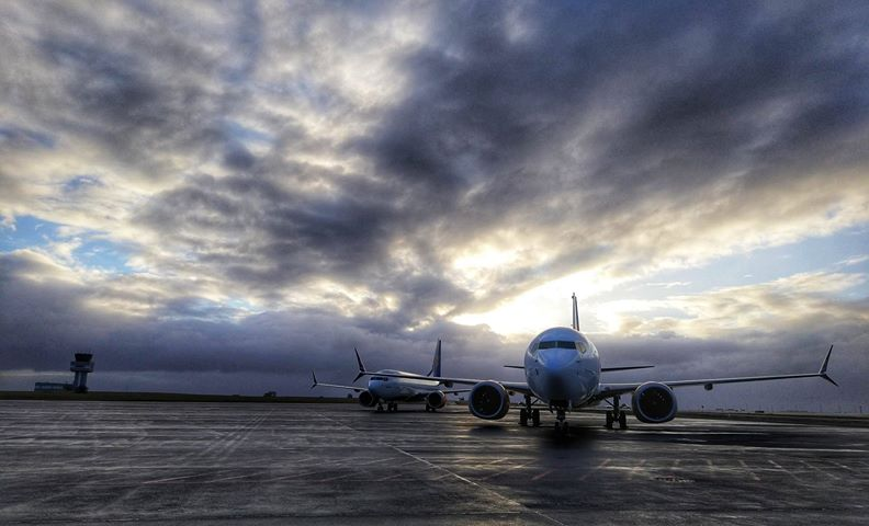 Icelandair Boeing 737 MAX in Keflavik // Source: Radek Werbowski