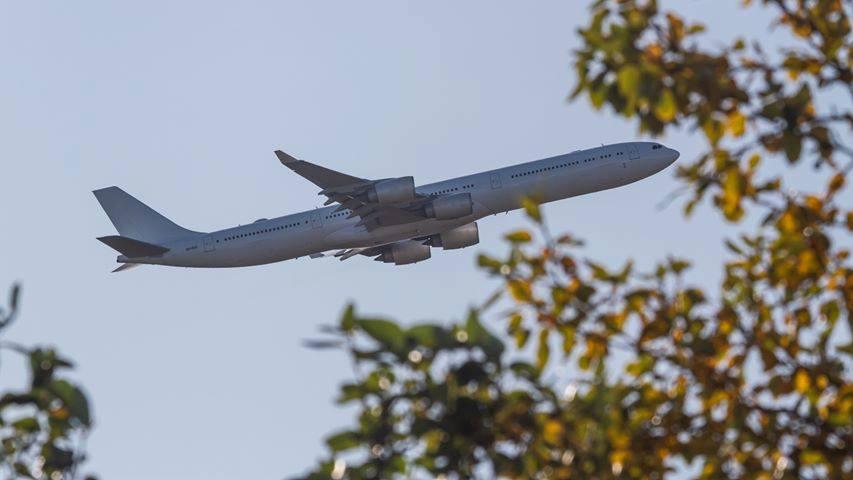 Maleth-Aero Airbus A340-600 9H-PGS is departing from Keflavik (BIKF), serving Transavia flight// Source: Paweł