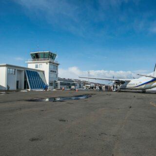 Akureyri airport (ICAO: BIAR) // Source: Akureyri airport's page on Facebook