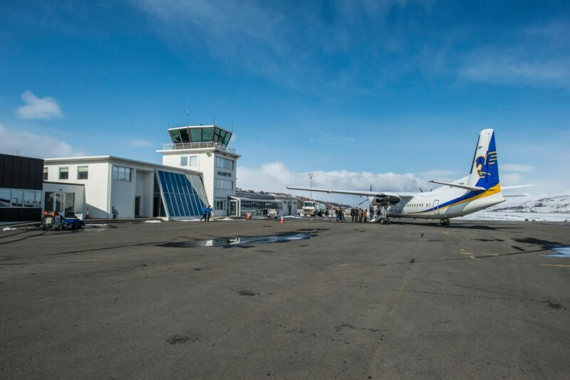 Akureyri airport (ICAO: BIAR) // Source: Akureyri airport's page on Facebook
