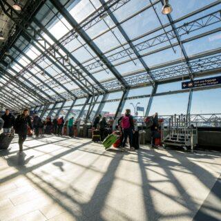 Leifur Eiriksson terminal in Keflavik airport // Source: Isavia