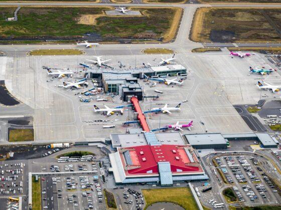Keflavik airport // Source: Isavia
