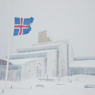 Blizzard in Ísafjörður // Source: hiveminer.com