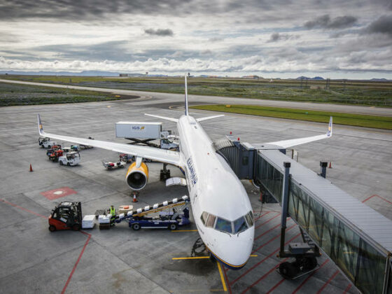 Icelandair Ground Services in Keflavik // Source: IGS.is