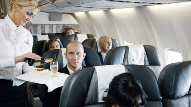 On board of Icelandair Boeing 757-200 // Source: Traveller.com.au