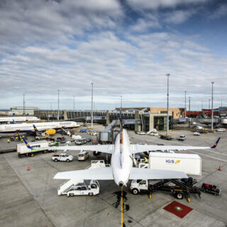 Icelandair Ground Service operations in Keflavik // Source: IGS
