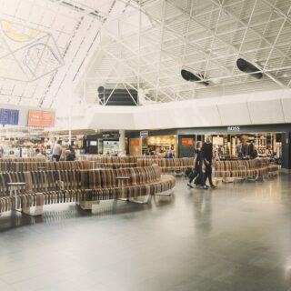 Inside Leif Erikson terminal in Keflavik airport // Source: Isavia