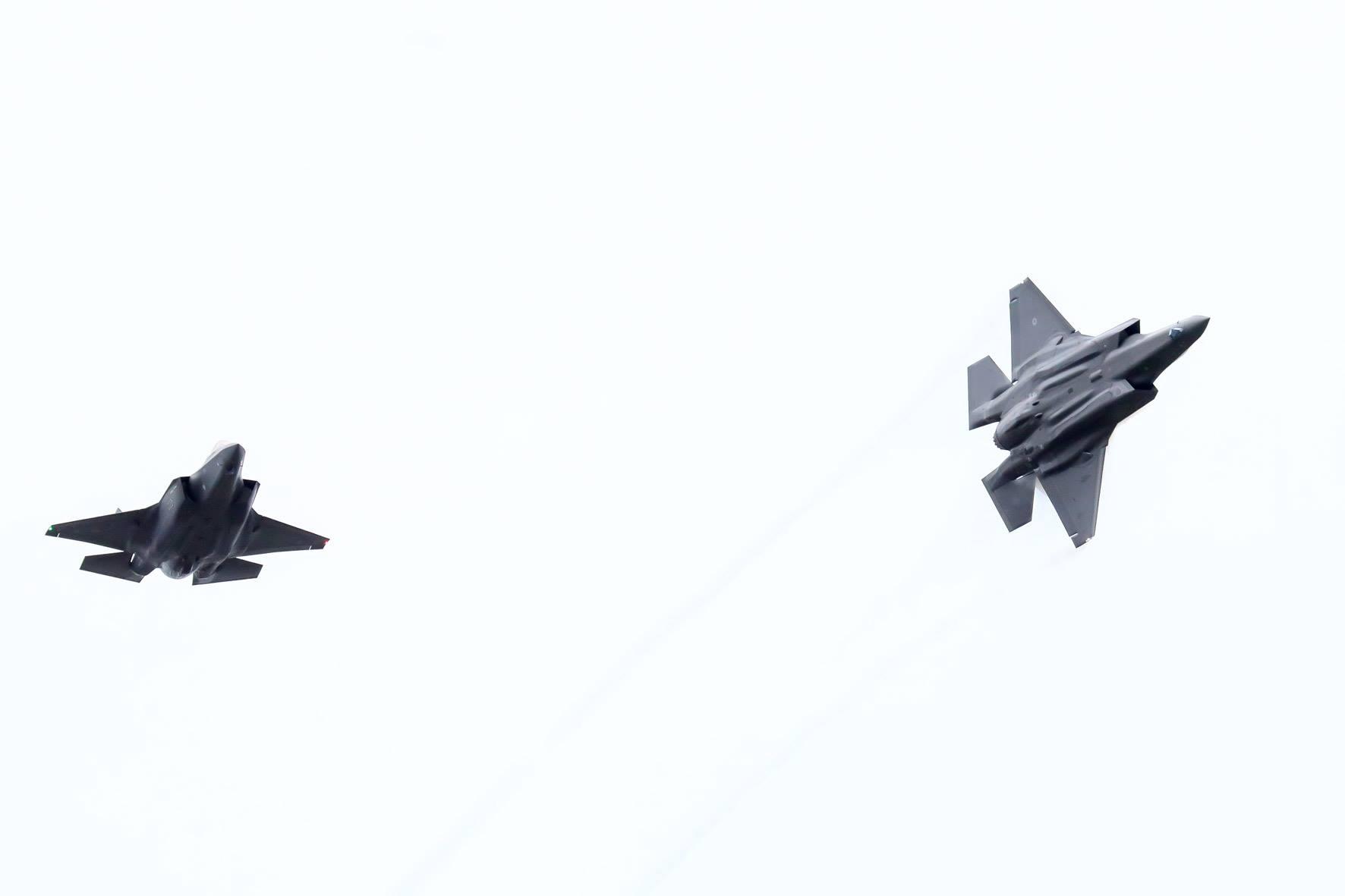 Italian Aif Force F-35 reg, 32-12 and 32-02 // Source: Hörður Geirsson