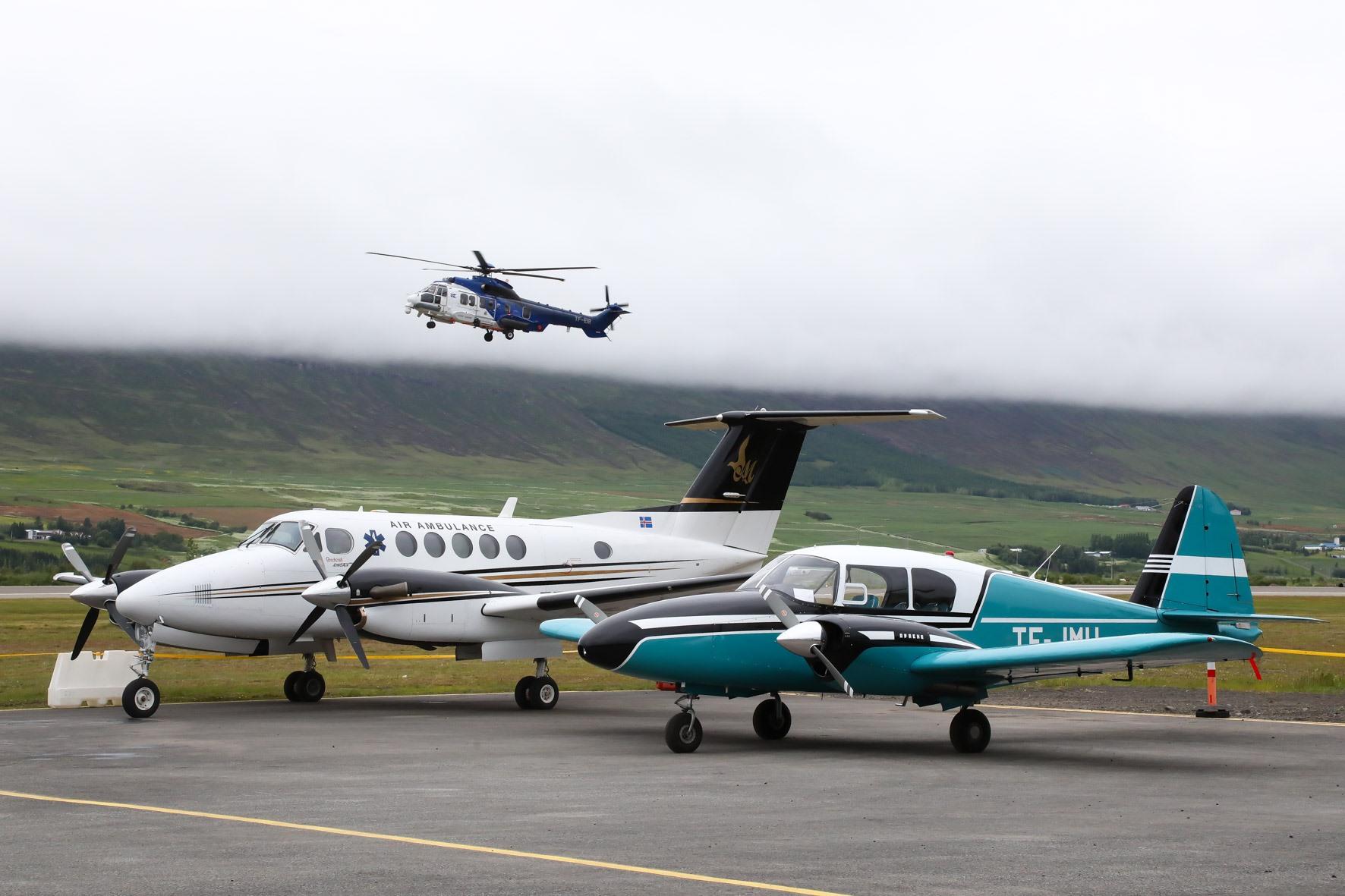 Icelandic Coast Guard Airbug H225 reg. TF-EIR performance // Source: Hörður Geirsson