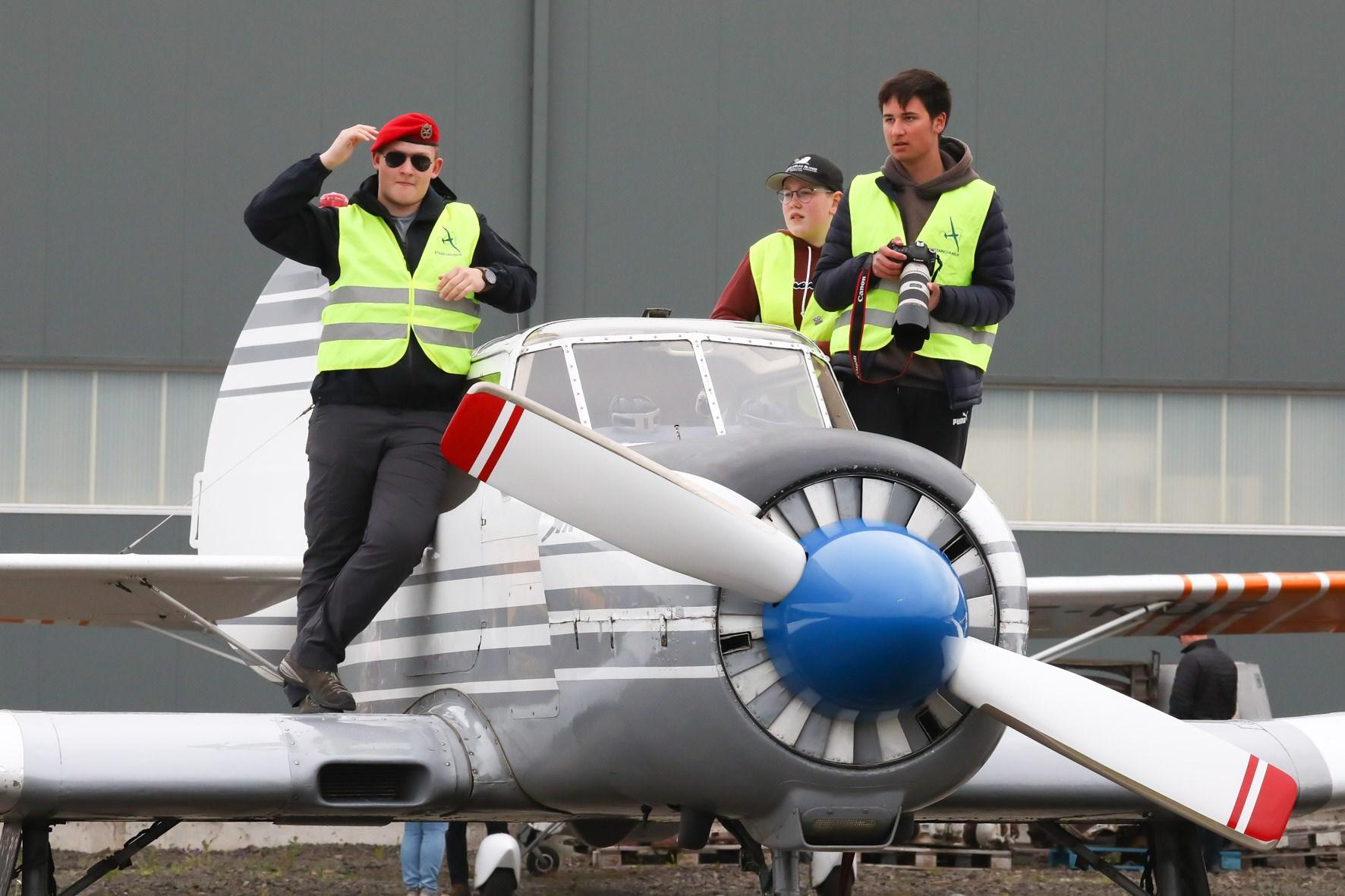 Yak-18T reg. TF-BCW // Source: Hörður Geirsson