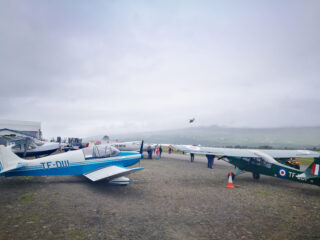 The first post-COVID airshow in Akureyri // Source: Flugblogg