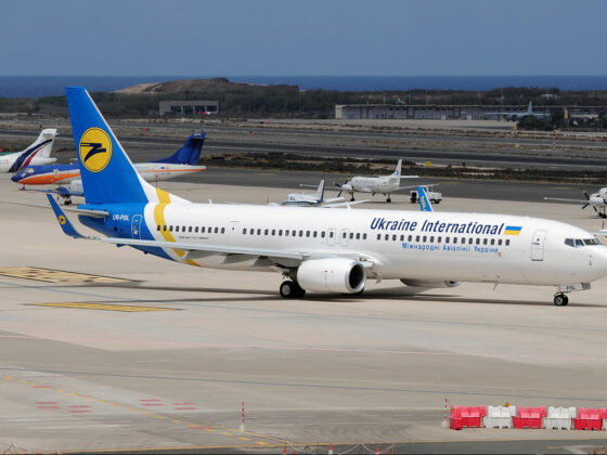 Ukraine International Airlines Boeing 737-900ER reg. UR-PSL // Source: samolety.org