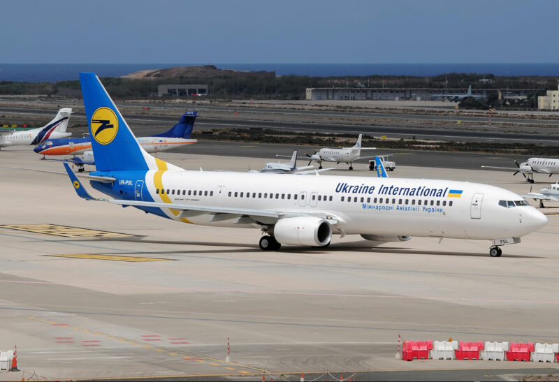 Ukraine International Airlines Boeing 737-900ER reg. UR-PSL // Source: samolety.org