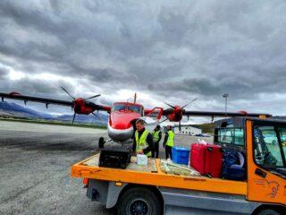 Norlandair DHC-6 Twin Otter reg. TF- NLD in Akureyri // Source: Einar Þór Óttarsson