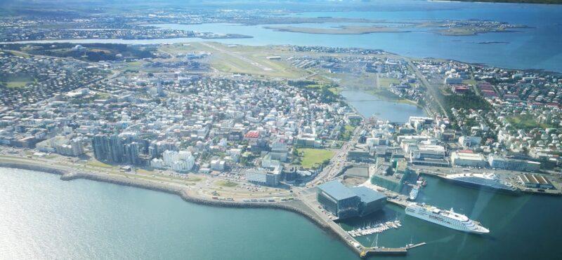 Reykjavik airport // Source: Flugblogg