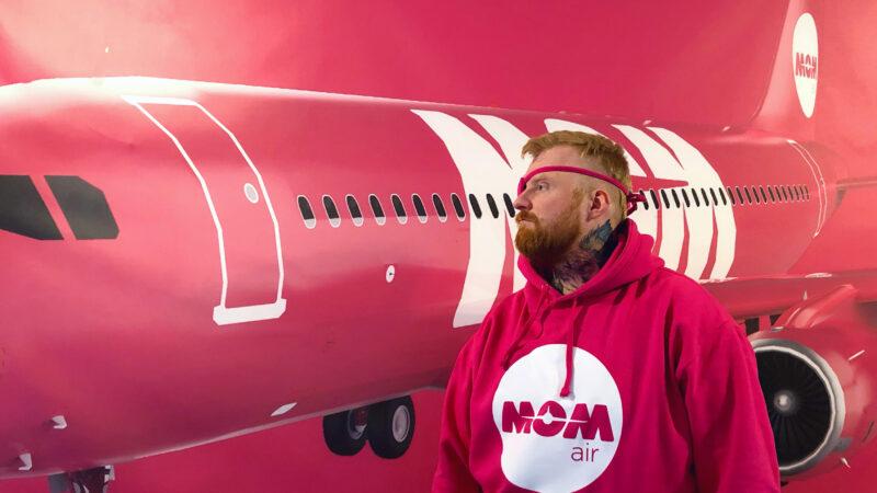 Oddur Eysteinn Friðriksson and his project MOM air // Source: Oddur Eysteinn Friðriksson