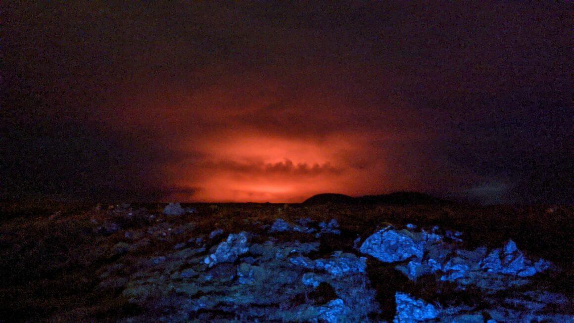 The eruption of Fagradalsfjall in March 2021 // Source: Nanna Höjgaard Grettisdóttir